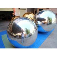 China Large Advertising Sliver Inflatable Floating Mirror Balls For Theater Decoration on sale