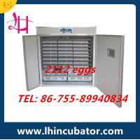Best Price Fully Automatic Chicken Egg Incubator Holding 2000 Eggs Incubator (lh-12) Manufactures