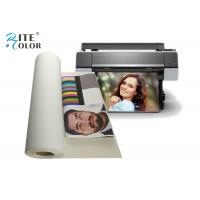 China 100% Cotton Inkjet Canvas Roll Aqueous For Large Format Inkjet Printing on sale