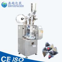 China Automatic Pyramid Tea Bag Packing Machine 30-60 Bags/Min Speed Easy Operation on sale