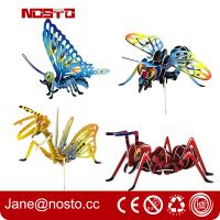 3D Jigsaw Puzzles Insect Cartoon Toys DIY Brain Train promotional toys Manufactures