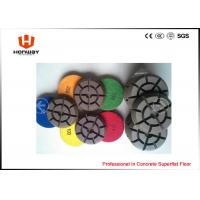 Quality High Speed Polishing Pads , 3'' Dry Concrete Polishing Pads For Grinder for sale