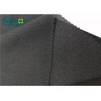 China 100% Polyester Mesh New Warp Knit Woven Fusible Interlining Fabric For Suit Uniform Clothing on sale