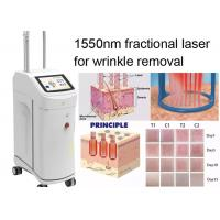 Non Ablative Wrinkle Laser Machine With 1550nm Erbium Glass Fractional Laser Technology Manufactures