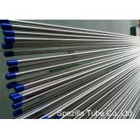 Stainless Steel Welded Tube ASTM A249 , Stainless Steel Instrument Tubing 20FT Length Manufactures