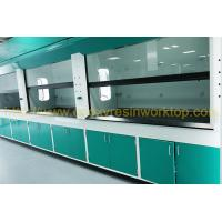 Floor Standing Science Laboratory Furniture epoxy resin chemical resistance Manufactures