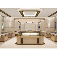 Large Space Modern Style Showroom Display Cabinets Lacquer Finish Color Manufactures