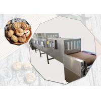 Silvery White Color Microwave Sterilization Machine For Figs , Long Life Manufactures