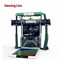 Buy cheap LED Stage Dance Game Machine , Music Dance Machine With Colorful Lighting from wholesalers
