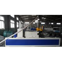 High output PVC Floor and door frame making machine , Double Screw Manufactures
