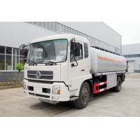 China Oil Dispenser Fuel Delivery Truck Q235 Carbon Steel Material Left Hand Driving on sale