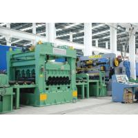 Uncoiling Leveling Rotary Shear Cut To Length Line / Cut To Length Line 28 Tons Manufactures