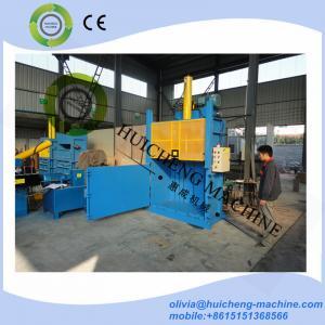 Europen type hydraulic vertical sliding door lifting door waste paper cardboard plastic baing machine press baler Manufactures