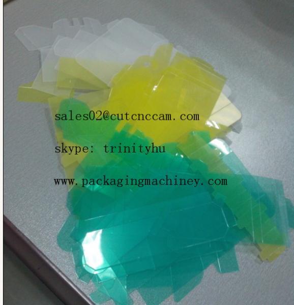 plastic sheet sample making cutting table