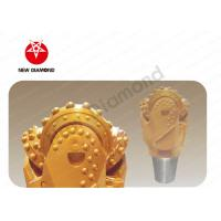 """Hard And Abrasive Tricone Drill Bit 6 3/4"""" With Polishing Surface Treatment Manufactures"""