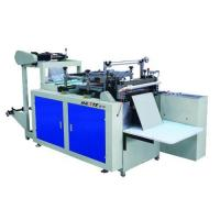 China Plastic glove making machine supplier on sale