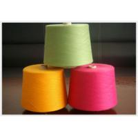 China dope dyed polyester spun yarn,30s/1,close virgin or 100%virgin on sale