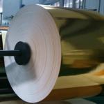 Gold Metallized paperboard Cigarettes Aluminum Foil Paper Manufactures