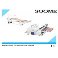 Automatic Corrugated Carton Box Machine Vibrating Equipped With Iron Trim Strip