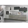 Buy cheap Petg Skin Sense Door Board Acrylic Kitchen Cabinets Acrylic / Quartz Benchtop from wholesalers