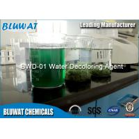 Water Decoloring Agent / Color Removal Chemical Colorless To Yellowish Translucid Liquid Manufactures