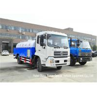King Run High Pressure Sewer Jetter Truck For Sewer Drain Cleaning 4x2 / 4x4 Manufactures