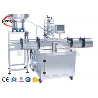 Rotary Auto Packing Machine Plastic Glass Perfume Bottle Capping Sealing Manufactures