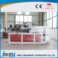 Outdoor Floor WPC Extrusion Line , Wpc Board Machine Professional Design Manufactures
