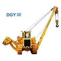 Energy Conservation Road Construction Machinery Pipe Crane Rated Loading Capacity 25 Ton Manufactures