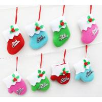 Mini Christmas boots and  gloves Christmas  decorations hang on Christmas tree Manufactures