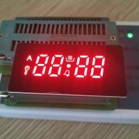 Ultra red 4 Digit 7 Segment LED Display common cathode for gas cookers Manufactures