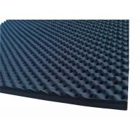 Egg Shaped Acoustic Rubber Foam Sound Proofing Material 50mmRubber Acoustic Foam Manufactures