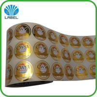 Beer Lable Plastic Wrapping Foils Hot Stamping Printing 12 Micron Thickness Manufactures