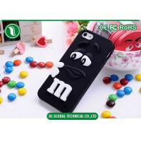 Lovely 4.7 inch 3D M&M Phone Case iPhone 6 SiliconeProtective Cover Manufactures