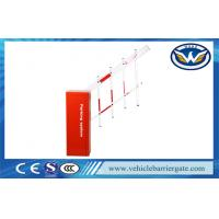 Automatic Intelligent Barrier Boom Gate Max 6M Arm Cold Roll Steel Sheet Material Manufactures