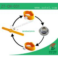 RFID Soft PVC wristband tag (anti-demolition, Product Type: ZT-CH-031) Manufactures