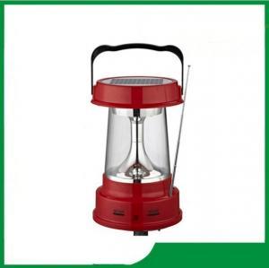 China Green power solar led lantern, led solar lantern with FM & AM radio function for hot sale on sale