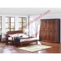 Modern Chinese Style Design Solid Wood Bedroom Furniture Sets Manufactures