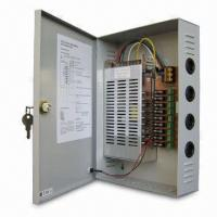 CCTV Power Supply, Connects Up to 9 Cameras with 220V AC/12V DC Voltage and 16A Output Voltage Manufactures