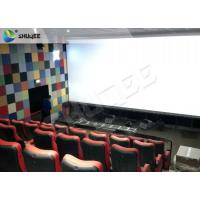 Durable 4 People 4D Dynamic Cinema 4D Cinema Equipment With Motion Chair Manufactures