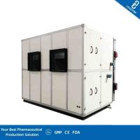China Floor Standing Type Clean Room AHU Heat Recovery Combined Supply Air Vel 12.92 M/S on sale