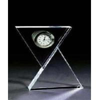 Moder Crystal Glass Table Clock (ZB-115) Manufactures