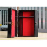 Personalized Environment Friendly Luxury Wood Jewelry Display Boxes With Lock Manufactures