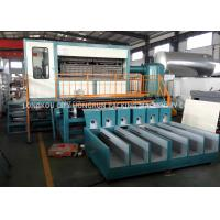 45T Fully Automatic Egg Tray Machine Water Consumption 800-1050kg / H Manufactures