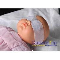 Sterilized White Neonatal Phototherapy Eye Mask For Baby Vision Protection Manufactures