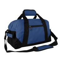 Small Navy Mens Sports Bag / Mens Athletic Bags Breathable Big Capacity Manufactures