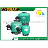 Fibreglass Sand Swimming Pool Filter Side Mount Bobbin Wound With Multiport Valve Manufactures