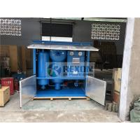 Rexon High Efficiency Two Stage Vacuum Transformer Oil Regeneration Purifier Manufactures