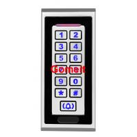 Stand Alone Proximity Access Control System , EM / MF Card Standalone Rfid Reader Manufactures