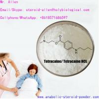 Quality Legit Supplying Local Anesthetic Drugs White Crystalline Powder Tetracaine Hydrochloride for sale